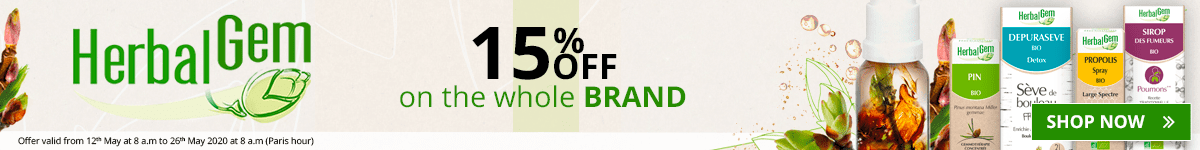 15% off on all the HerbalGem products