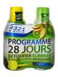 4321 Minceur Programme 28 Jours Pomme Kiwi - Citron Lot de 2 x 280 ml
