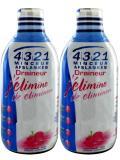 4321 Minceur Draineur Lot de 2 x 500 ml