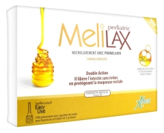 Aboca Melilax Pediatric 6 Micro Enemas for Infants and Children