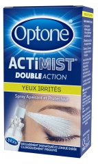Optone ActiMist 2 in 1 Eye Spray Tired Eyes and Discomfort 10ml