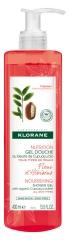 Klorane Nourishing Shower Gel with Organic Cupua?u Butter with Hibiscus Flower 400ml