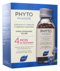 Phyto Phytophanère Hair and Nails 4 Months Treatment 240 Capsules