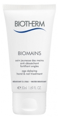 Biotherm Biomains Age Delaying Hand and Nail Treatment 50ml