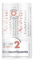 Avène Cold Cream Lip Balm 2 x 4g