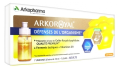 Arkopharma Arko Royal Organism Defenses 7 Unidoses