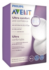 Avent 24 Disposable Breast Pads