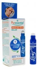 Puressentiel Headache Roller with 9 Essential Oils 5ml