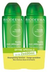 Bioderma Nodé Non Detergent Fluid Shampoo 2 x 400ml