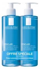 La Roche-Posay Effaclar Purifying Foaming Gel 2 x 400ml