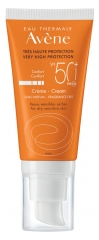 Avène Sun Care Cream SPF50+ Fragrance Free 50ml