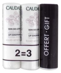 Caudalie Lips Conditioner 3 x 4.5g
