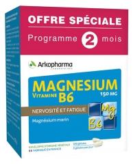 Arkopharma Magnesium Vitamin B6 150mg 120 Capsules Special Offer
