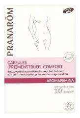 Pranar?m Aromafemina Organic Comfort Capsules (Pre)Menstrual 30 Capsules