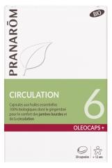 Pranar?m Oléocaps+ Organic 6 Circulation 30 Capsules