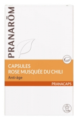 Pranar?m Rose Hip from Chile 40 Capsules