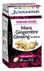 Juvamine Phyto Maca Ginseng Ginger 40 Tablets