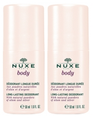 Nuxe Body Long-Lasting Deodorant 2 x 50ml