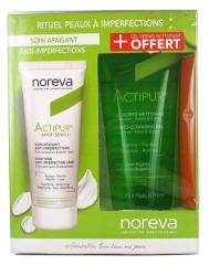 Noreva Actipur Expert Sensi+ Soothing Anti-Imperfection Care 40ml + Dermo-Cleansing Gel 100ml Free