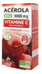 Les 3 Chênes Bio Acerola Organic 3000 mg 21 Tablets