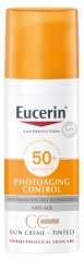 Eucerin Sun Protection Photoaging Control CC Sun Cream Medium Tinted SPF 50+ 50ml