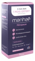 Nutrisanté Manhaé Pre-Menopause Menopause 120 Capsules with 1 Month Free