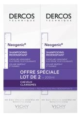 Vichy Dercos Neogenic Redensifying Shampoo 2 x 200ml