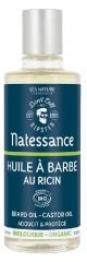 Natessance Organic Beard Oil Castor Oil 100ml