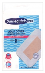 Salvequick Med Aqua Cover Extra-Large Dressing 5 Dressings