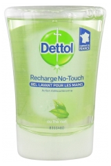 Dettol Refill No-Touch Antibacterial Gel Green Tea 250 ml