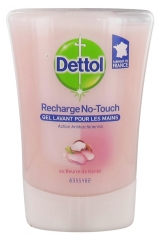 Dettol Refill No-Touch Antibacterial Gel Shea Butter 250 ml