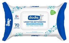 Dodie Dermo-Soothing Gentle Cleansing Wipes 70 Wipes