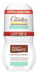 Rogé Cavaillès Dermatological Deo-Care Roll-on 2X50ml