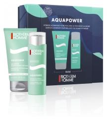 Biotherm Homme Aquapower Oligo-Thermal Care Dynamic Hydration 75 ml + Refreshing Detoxifying Shower Gel 150 ml