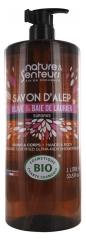 Nature & Scents Aleppo Soap Olive and Laurel Bay Organic Surgras 1 L