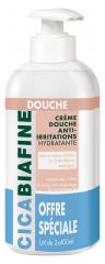 CicaBiafine Moisturising Shower Cream Anti-Irritations 2 x 400ml