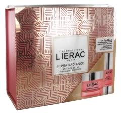 Lierac Supra Radiance Set Anti-Ox Renewing Cream-Gel 50ml + Eye Radiance Serum 15ml Free