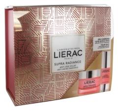 Lierac Supra Radiance Anti-Aging Radiance Set Renewing Cream 50ml + Radiance Serum 15ml Free