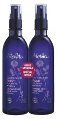 Melvita Organic Damask Rose Floral Water Spray 2 x 200 ml