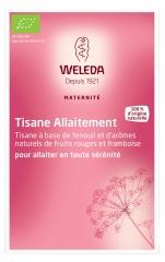 Weleda Maternité Breastfeeding Herbal Tea Red Berries and Raspberry Aromas 20 Sachets