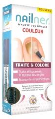 Nailner Nail Mycosis Treats & Colours 2 Nail Polishes