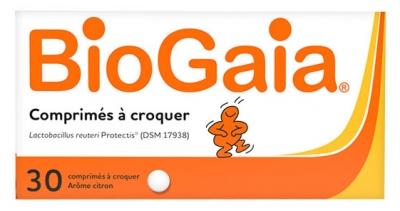 BioGaia L.Reuteri ProTectis Probiotic Lemon 30 Tablets