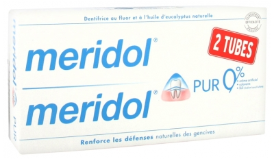 Meridol Pur Toothpaste 2 x 75ml