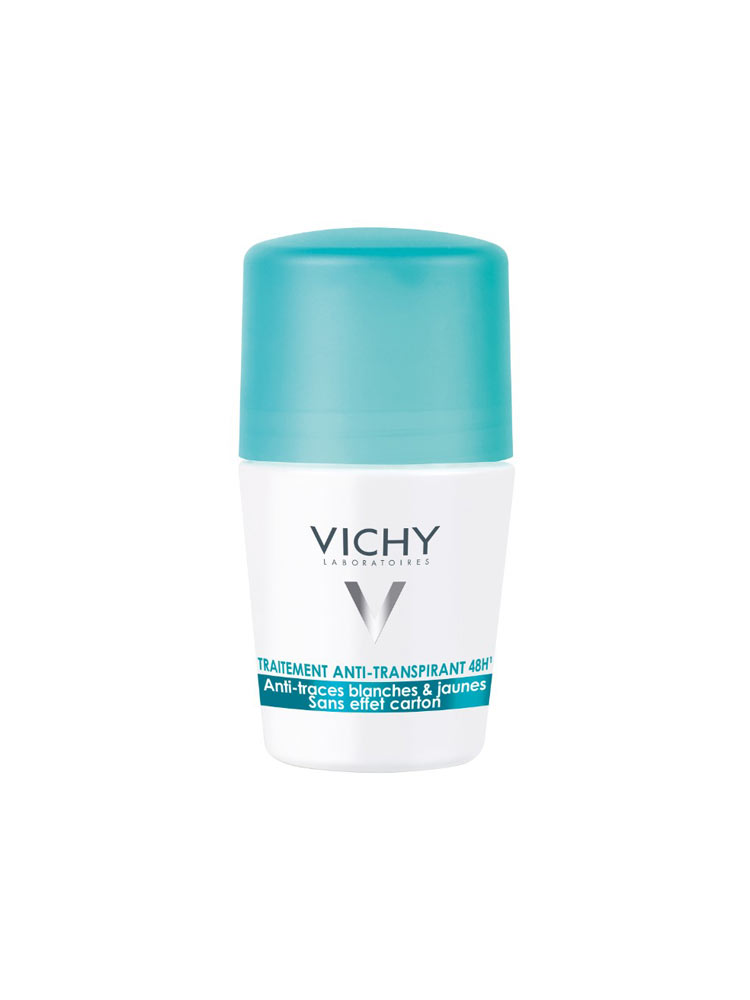 Vichy d odorant anti transpirant bille 48h 50 ml - Coussin anti transpirant ...