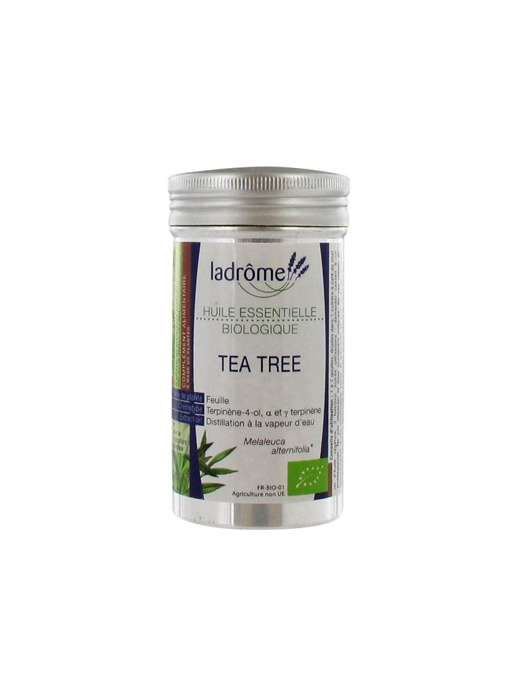 ladr me huile essentielle biologique tea tree 10 ml prix bas ici. Black Bedroom Furniture Sets. Home Design Ideas