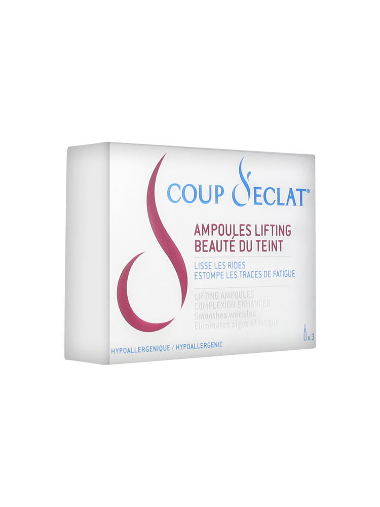 Coup d 39 eclat 3 ampoules lifting - Coup eclat lifting ampoules ...