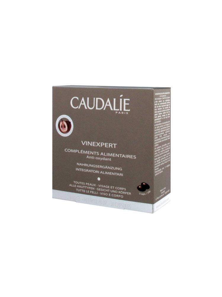 caudalie vinexpert compl ments alimentaires anti oxydant 30 capsules. Black Bedroom Furniture Sets. Home Design Ideas