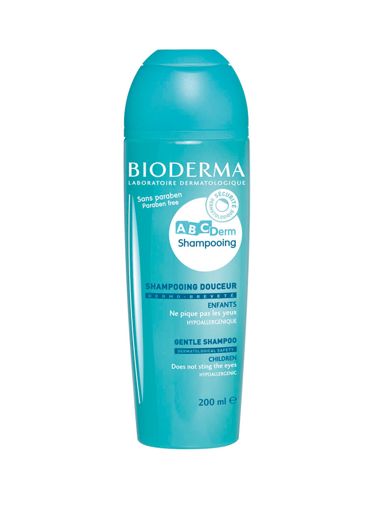 bioderma abcderm gentle shampoo 200ml. Black Bedroom Furniture Sets. Home Design Ideas
