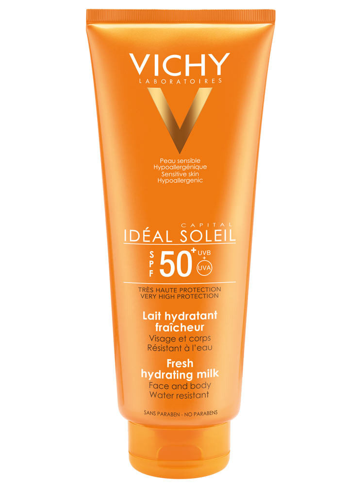 vichy capital soleil lait spf 50 300 ml. Black Bedroom Furniture Sets. Home Design Ideas