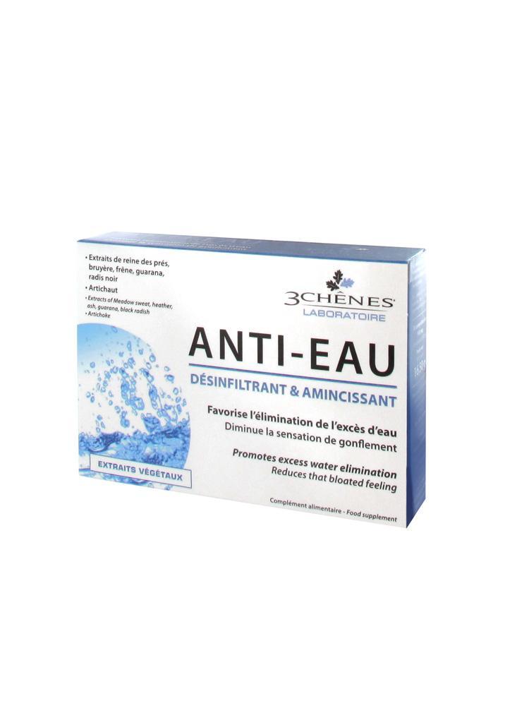 3 Chênes Anti-Eau Désinfiltrant/Amincissant 30 Comprimés